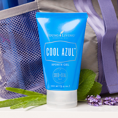 Keep Your Cool with Cool Azul Sports Gel