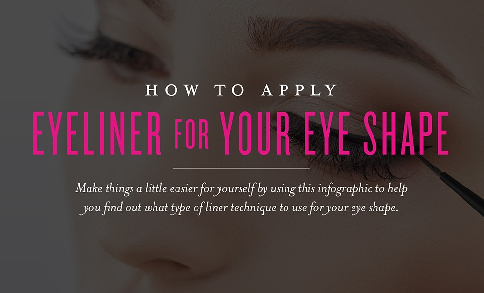 Eyeliner for your eye shape - Young Living Banner