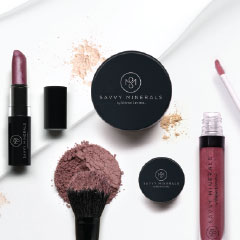 5 minutes to fabulous: How to apply makeup with Savvy Minerals by Young Living