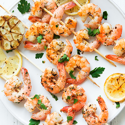 BBQ Prawns with Citrus Garlic Marinade and Dipping Sauce Recipe by Chef Kate