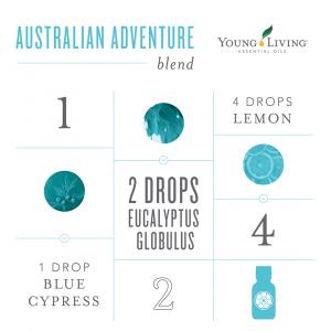 Young Living Australian Adventure Essential oil Diffuser Blend