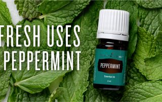 20 fresh uses for peppermint essential oil by Young Living essential oils