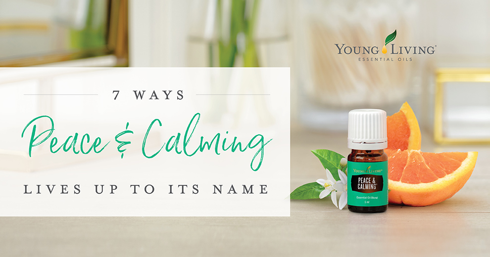 Peace and Calming Essential oils - 7 ways to diffuse