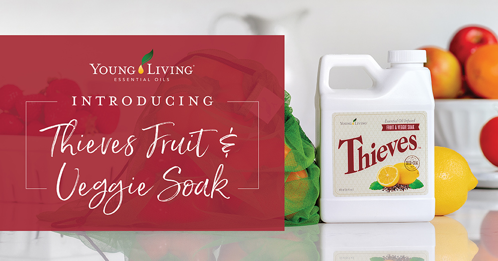 Thieves fruit and veggie soak young living