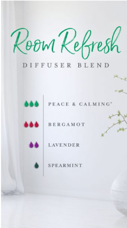 Room Refresh essential oil blend