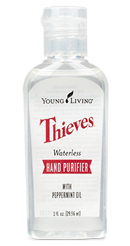 Thieves hand purifier young living