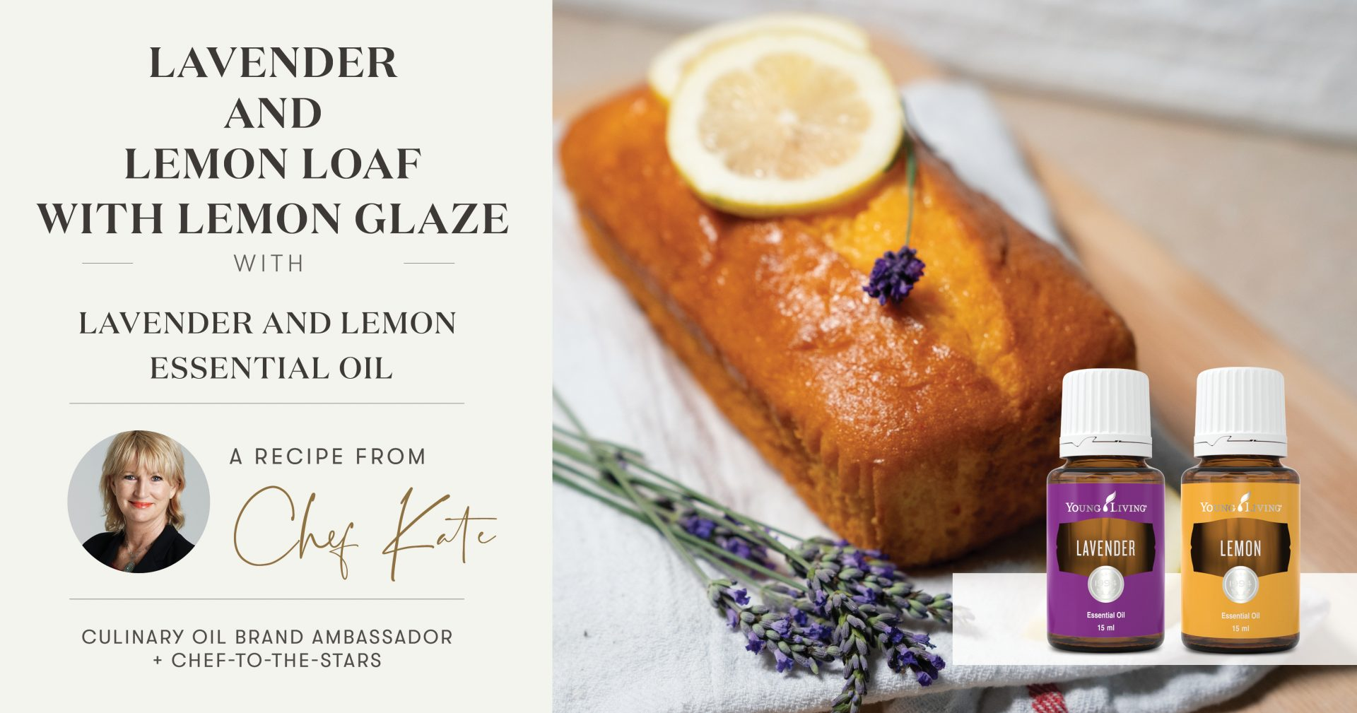 Lemon & Lavender Cake with Lemon Glaze Header