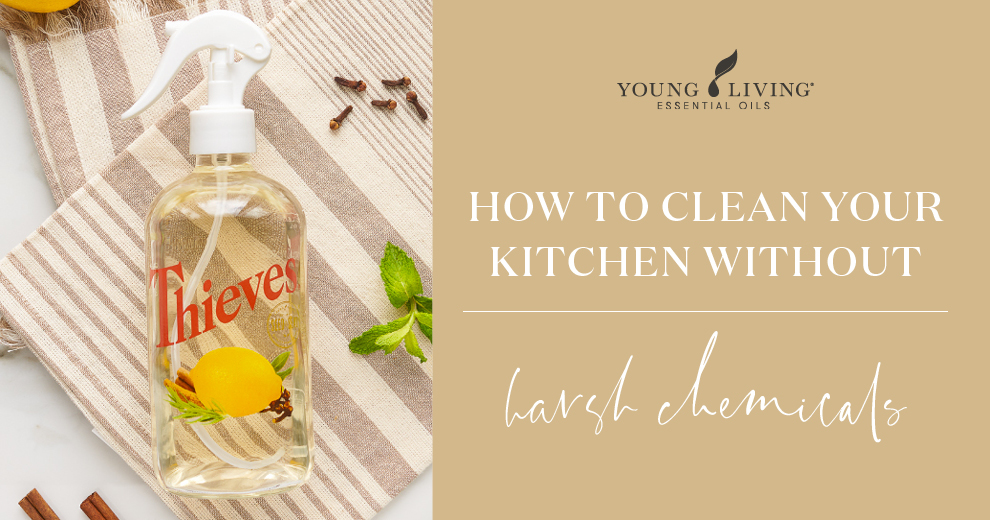 How to clean your kitchen without harsh chemicals header