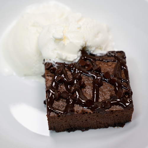 Gooey Chocolate Brownies with Frankincense Essential Oil