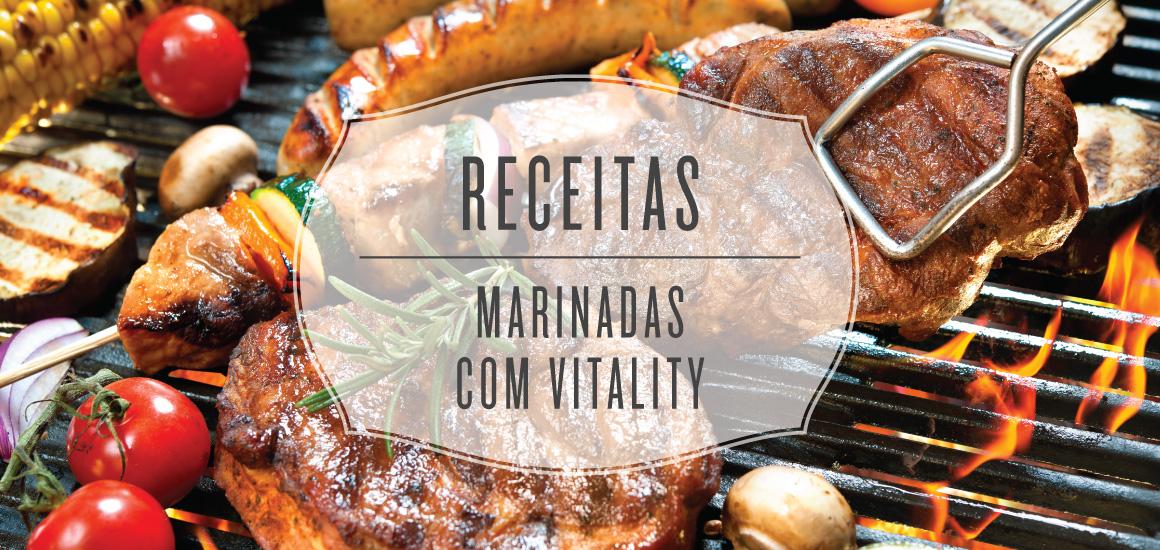 Receitas: Marinadas com Vitality