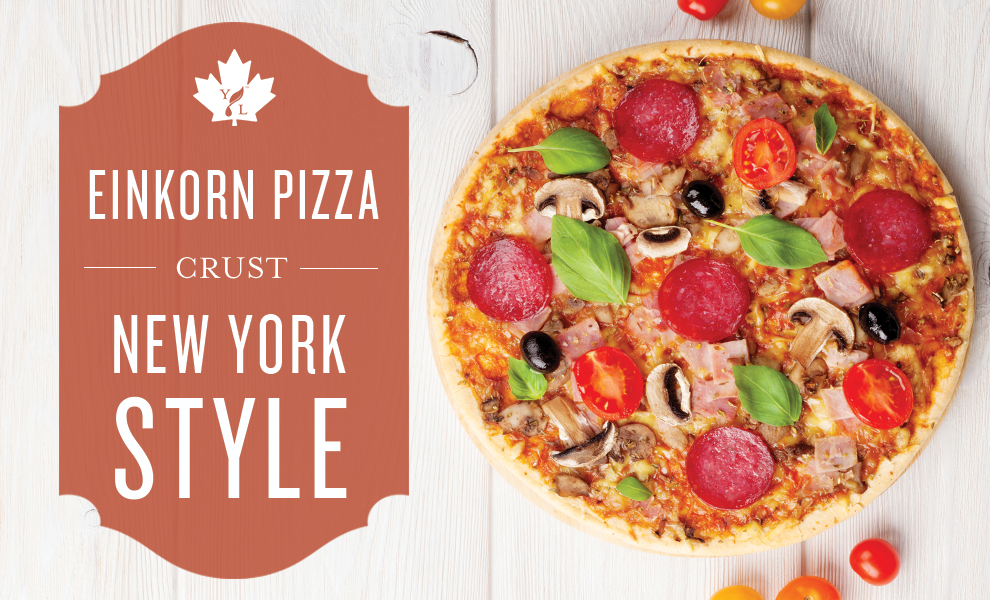 new york style pizza recipe with einkorn