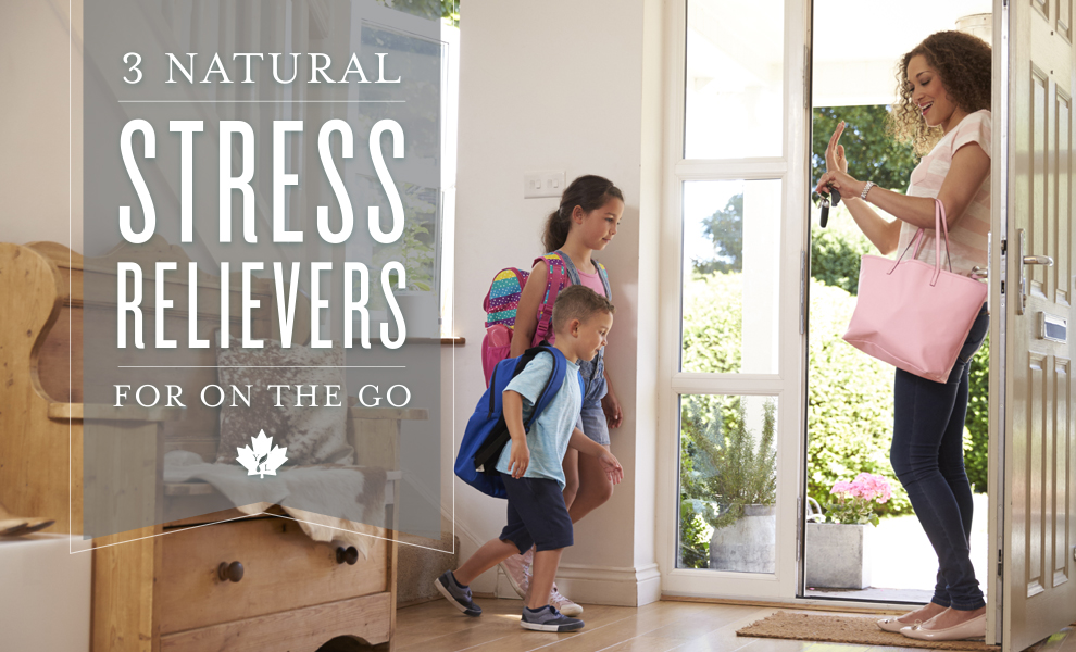 3 Natural Stress Relievers For On The Go