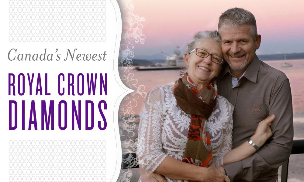 Royal Crown Diamonds Ben & Carol Howden