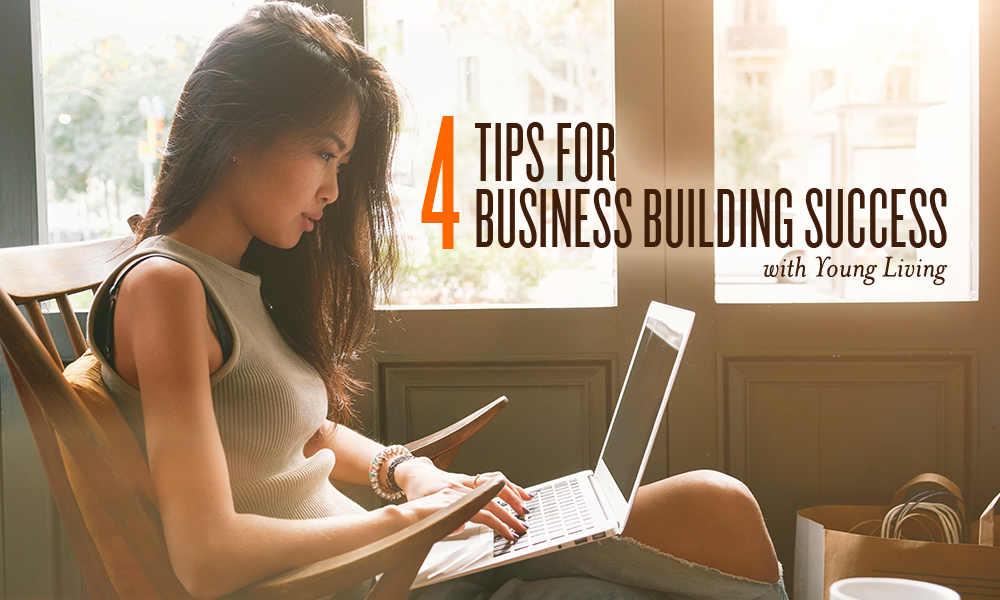 young living business building tips featured image