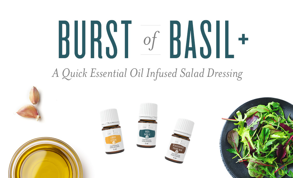 basil salad dressing featured image