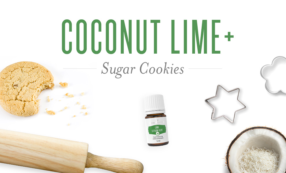 coconut lime sugar cookies recipe featured image