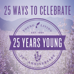 25 Ways to Celebrate 25 Years of Young Living