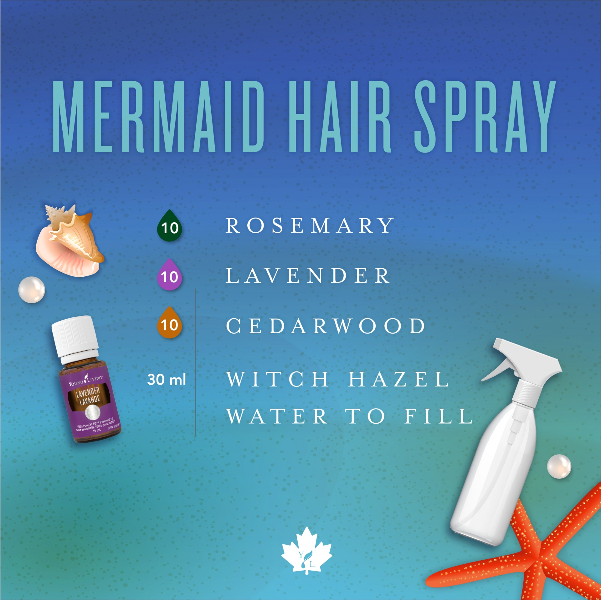 How To Get Mermaid Hair With Essential Oils Young Living Canada Blog