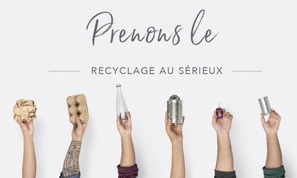 preuous le recyclage au serieux