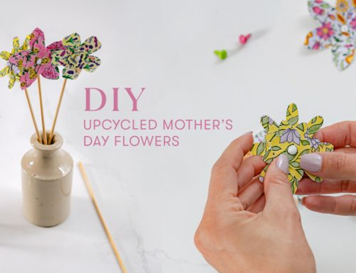 DIY upcycled Mother's Day flowers