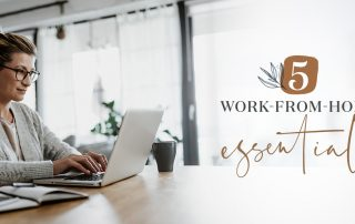 work from home and stay focused