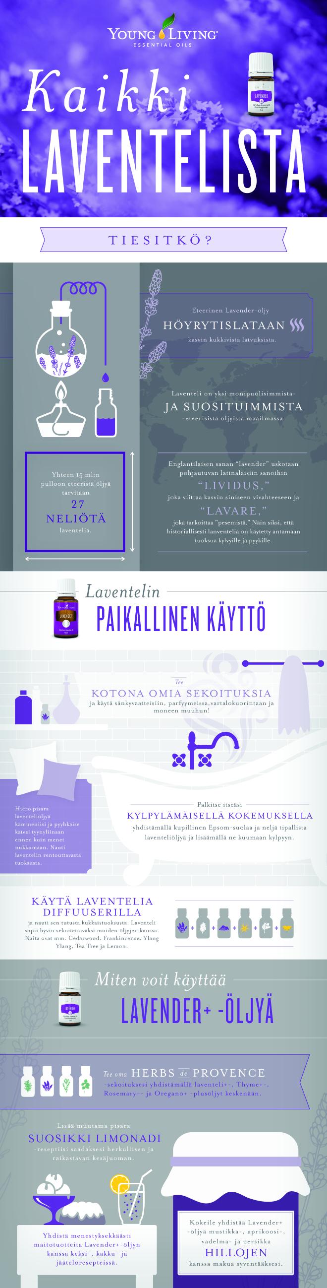Koikki laventelista