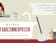 8 Tipps zum Badezimmerputzen mit Thieves Haushaltsreiniger