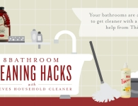 Alt: 8 Bathroom Cleaning Tips with Thieves Household Cleaner