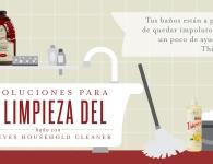8 trucos para limpiar el baño con Thieves Household Cleaner.