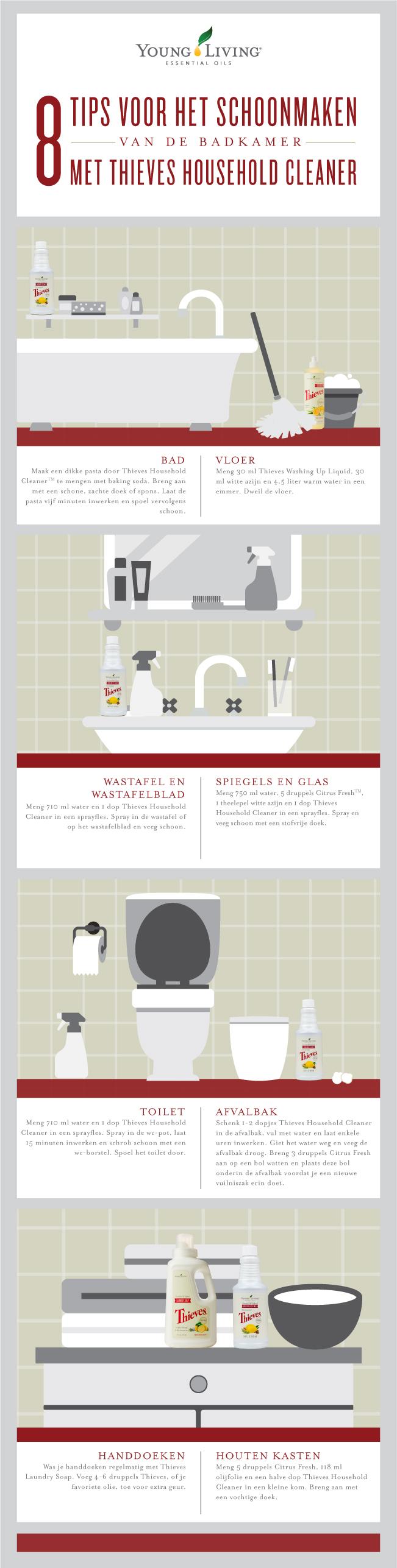 Hoe gebruik jij Thieves Household Cleaner? Laat het ons weten!