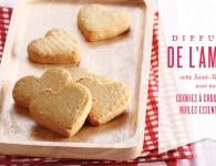 Cookies de la St-Valentin en forme de cœur