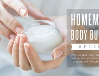 Essential Oil Body Butter with Coconut Oil