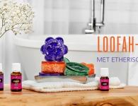 Doe-het-zelf loofah-zeep met etherische olie