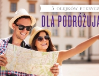 • 5 essential oils for travellers with a man and woman smiling and looking at a map