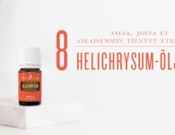Helichrysum-öljystä ja sen käyttötavoista