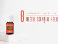 Utilizări și informații despre uleiul esențial Helichrysum