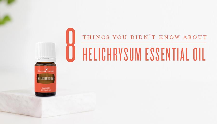 Helichrysum Essential Oil Bottle, Peppermint Essential Oil Bottle