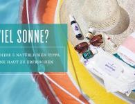 Natürliche Sonnenschutzprodukte und Kleidung