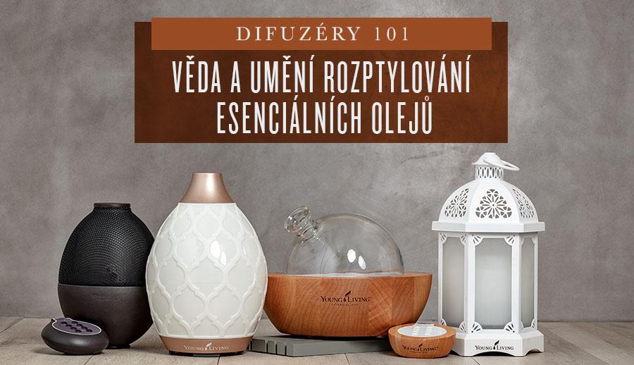 • Difuzéry 101 Věda a umění rozptylování esenciálních olejů