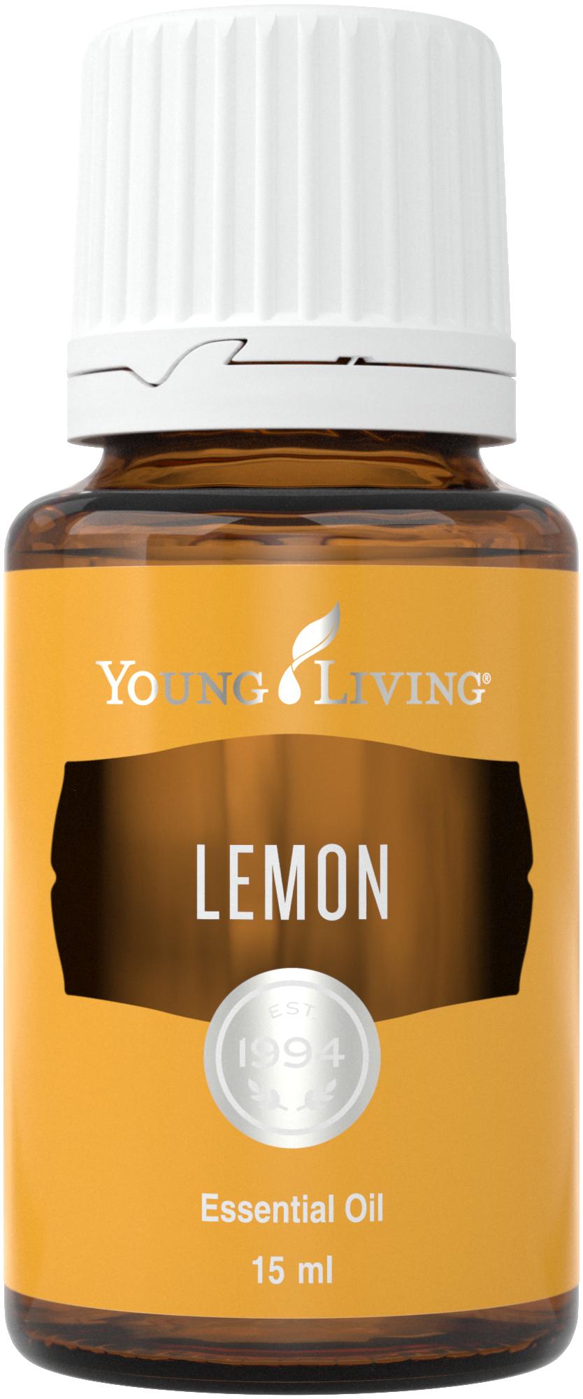 Lemon heeft een frisse, vrolijke geur. Niet alleen je huid en haar hebben baat bij deze olie, maar ook je omgeving.