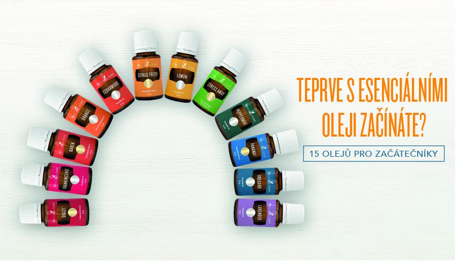 • Teprve s esenciálními oleji začínáte? 15 olejů pro začátečníky