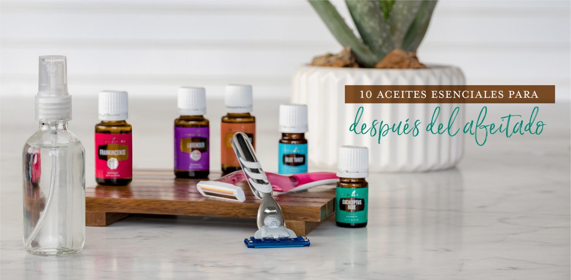 10 aceites esenciales para después del afeitado - Young Living Blog