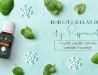 4 použití oleje Peppermint