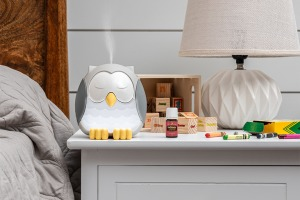 snowy the owl diffuser und Kidscents ätherisches Öl