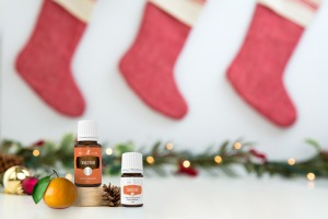 Ätherisches Mandarinen Öl und Christmas Stockings