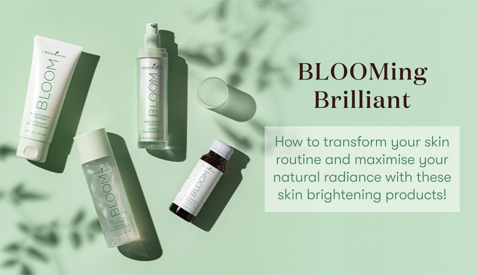 Bloom Skin Products by Young Living