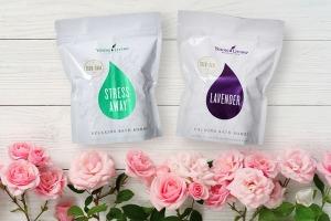 Lavender Bath Bombs en Young Living Stress Away® Bath Bombs