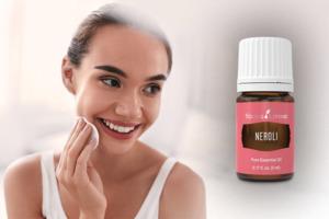Óleo essencial de néroli para os cuidados para a pele