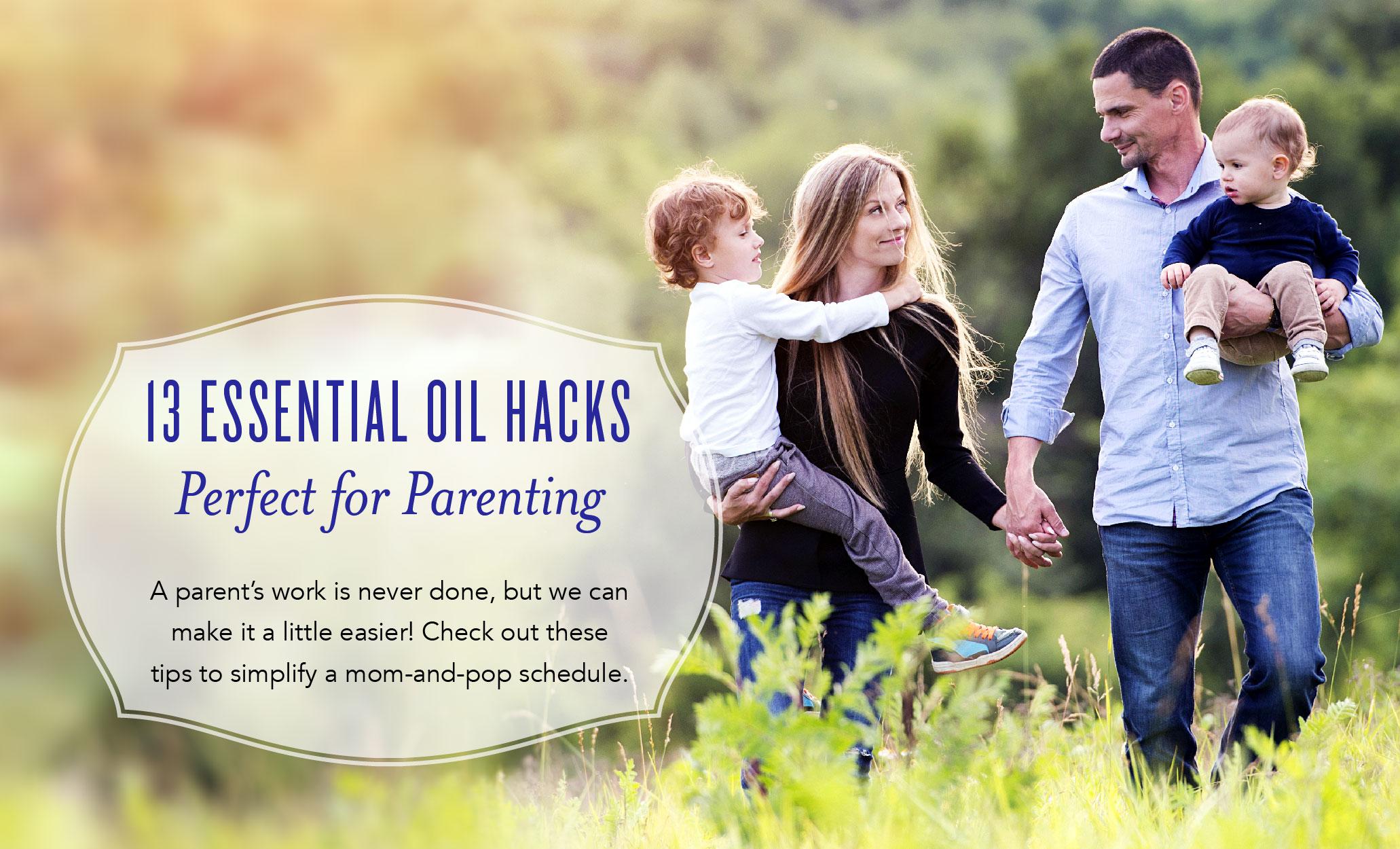 Essential Oils for Parenting