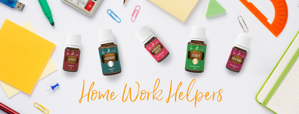 Essential Oils for Homework